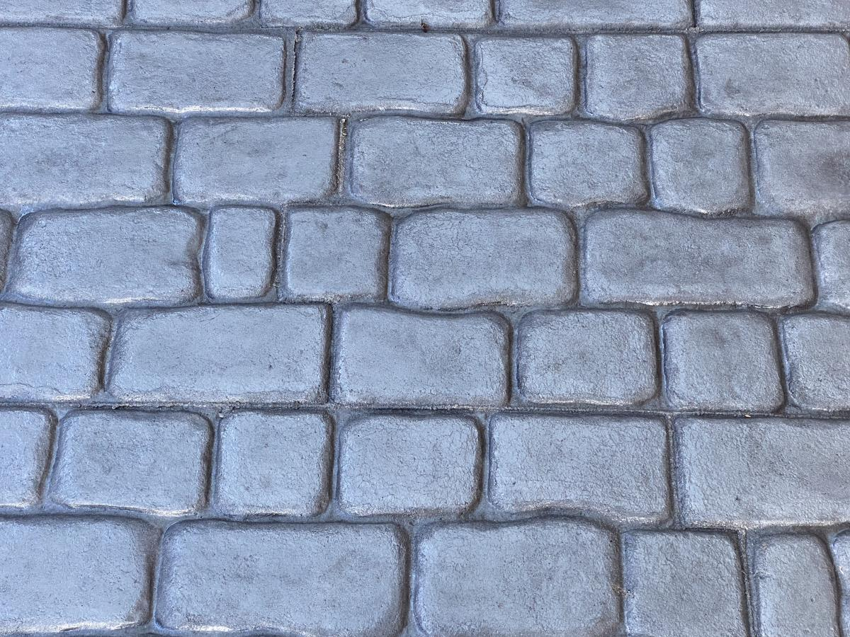Recreate an authentic looking cobblestone style on your driveway without the weeds, water pooling or sinking.